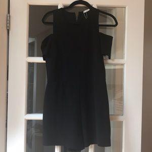 Black cold shoulder Jumper - Zara